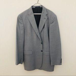 Joseph Abboud Men's Grey Herringbone Sport Coat